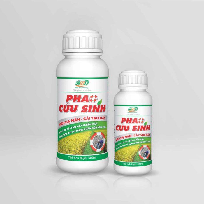 Chế phẩm vi sinh giúp xử lý nhiễm mặn