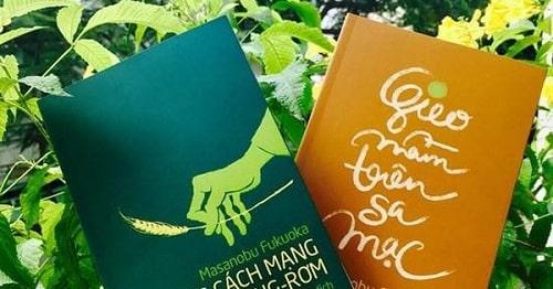 Masanobu Fukuoka có 2 cuốn sách nổi tiếng