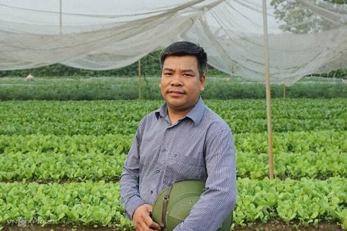 Người nông dân Vương Sỹ Thành từ bỏ xưởng miến để khăn gói đường vào Lâm Đồng học trồng rau sạch