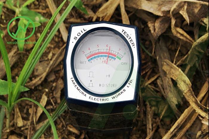 Cách kiểm tra pH đất bằng mấy đo pH